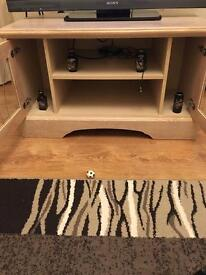 Tv table and 3 nest table