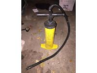 Air pump for boat