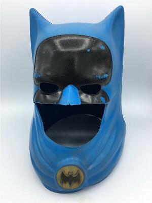 VINTAGE 1966 BATMAN Ideal TOY Helmet COWL MASK Costume ADAM West DC Comics