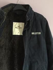 Hollister winter jacket. Size M
