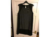 Black Dress From Peacocks New With Tags size 14