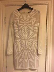 Lipsy London white dress
