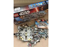 Star Wars Lego set, mint condition. Original price £140.00