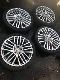 Vw Touareg wheels and tyres
