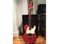 Limited Edition Fender 2009 American Standard Telecaster - Fiesta Red / Matching Headstock - Mint