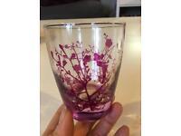 Tinkerbell Disney tumbler glasses set of 4