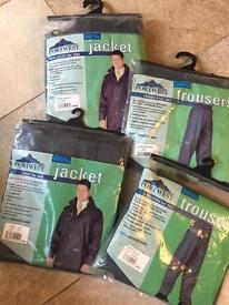 Sealtex Portwest Jackets & Trousers (NEW) - 3 Sets Available Large & XLarge
