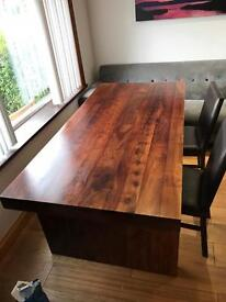 Wooden dine table