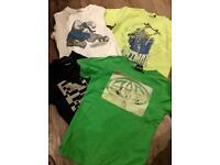 Boys designer tshirt bundle age 7-8