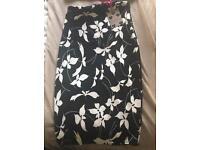 Boohoo skirt & Top