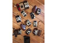 Collection Of Vintage Collectible Old Cameras