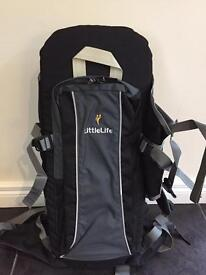 Little life baby/infant back pack carrier