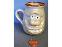 glazed stoneware ugly mug
