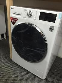 ** CHRISTMAS SALE** New Graded LG Direct Drive 9kg A+++ Washing Machine White
