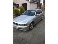 2002 BMW 525D auto .. long mot - tow bar