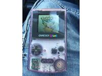 Gameboy colour and Pokemon yellow