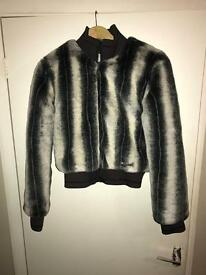Faux fur roxy jacket