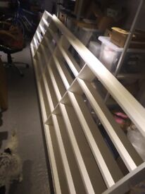 Fantastic Large White CD Shelving Unit