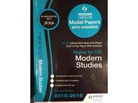 Higher Past Papers Modern Studies