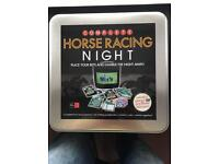 Horse racing game with DVD