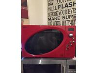 Red next microwave