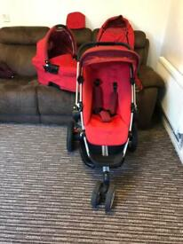 Quinny travel system IP1 area