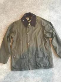 Barbour Classic Bedale Wax Jacket - brand new