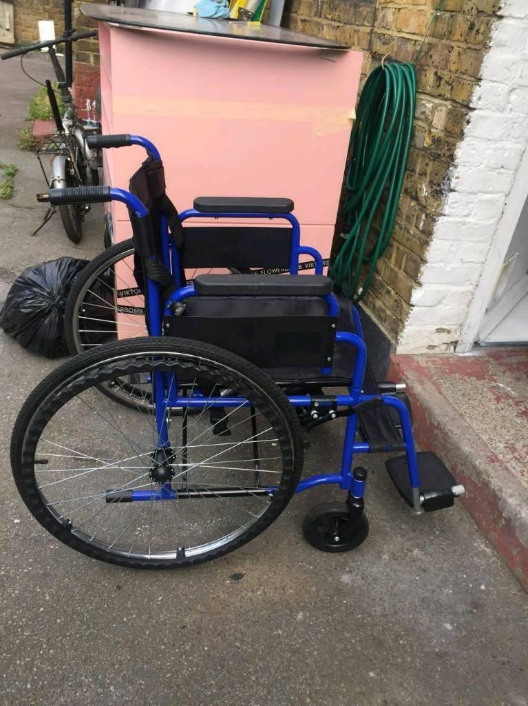 Alondy All Aid Self Propelled Lightweight Folding Wheelchair