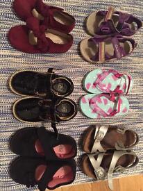 Bundle infant 7 shoes