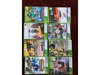 Xbox 360 with Fifa 17 and other games