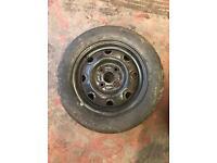 Dunlop SP wheel & tyre