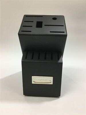 Black Wood Storage - CUISINART BLACK WOOD Storage Knife Block 14 Slot (Block Only) LOWEST PRICE (NEW)