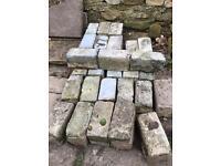 Blue reclaimed Cobble stones