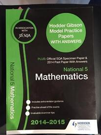 National 5 Past Papers Mathematics