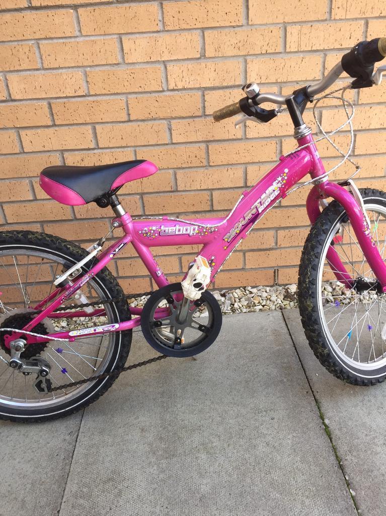 "Girls Mountain Ridge 20"" bike"