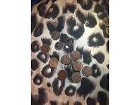 Rare coins (50p) (£2 ) ( please read bargain) 2 pound coins and 50 p coins