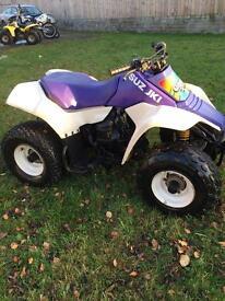 Suzuki lt80 (excellent condition) quad