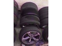 """Bmw ac schnitzer 18"""" Type 4 5 6 Alloy Wheels Can Sell Single 5*120 Can Post Part Ex Welcome"""