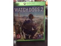 BRAND NEW AND SEALED WATCHDOGS 2 ON XBOX ONE.