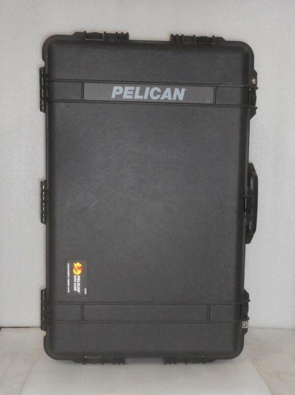 New Pelican 1650 Protector Case Black *No Foam Insert*