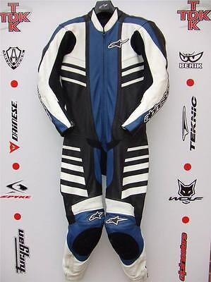 Alpinestars CR-1 One Piece Race suit with hump uk 40 euro 50
