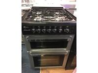 FLAVEL 60CM ALL GAS COOKER IN SILIVER