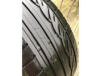 BMW 5 series run flat tyre