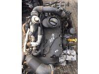 VW SHARAN FORD GALAXY SEAT ALHAMBRA 1.9 TDI 2001-2009 BARE ENGINE 6 SPEED BOX