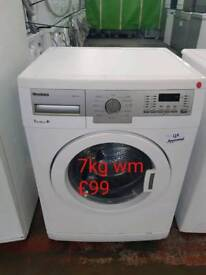 Blomberg 7kg washing machine free delivery in Oakham