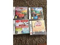 4 DSi games and free hard case