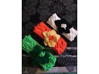 Hand crafted ladies flower headbands