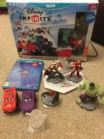 Disney infinity 1 and 2 for the wii u with extras