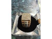 Rolex one carat diamond ring