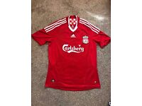 Football Shirt Red Unisex 08/09 Home Liverpool